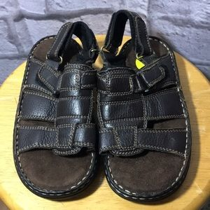 Outland Brown Boys Sandals ~ New